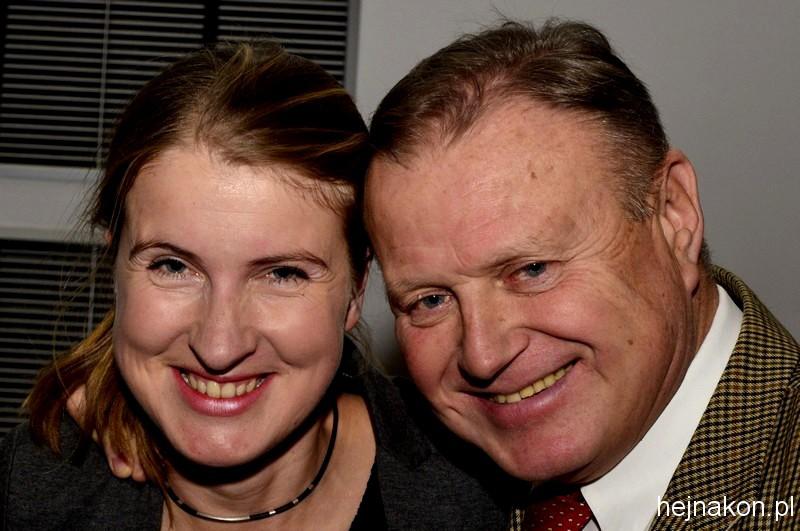 Piękna i bestia: Katarzyna WIDALSKA i Andrzej ZÓŁKIEWSKI; foto: FAPA-PRESS