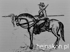 """Witold Pilecki pisał wiersze, zachował się jego poemat """"Sukurcze"""", malował obrazy, rysował. Powyżej jego Krakus na koniu."""