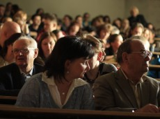 Podczas wykładów; foto KATARZYNA KALINOWSKA
