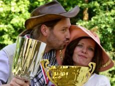 Monika Filipiuk-Obałek z mężem Mariuszem; foto: FAPA-PRESS