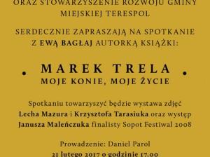 Zaproszenie spotkanie MarekTreliiiiiiiiiiiia,Terespol 21.02.2017