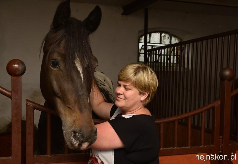 Ewelina Łobocka z Corneliusem; foto: FAPA-PRESS