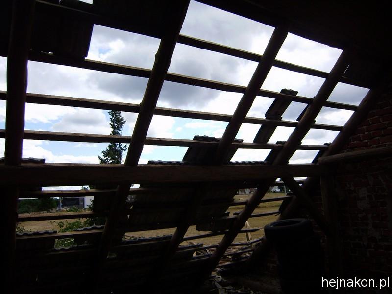 Dach stajni; foto: archiwum domowe EŁ