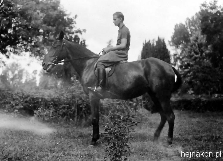 Rok 1937. Stanisław Wyganowski na Farsie. Foto: archiwum rodzinne SW